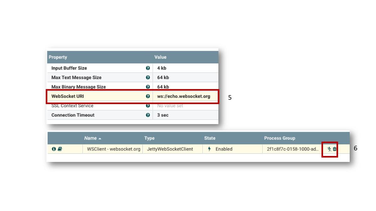 NiFi WebSocket support